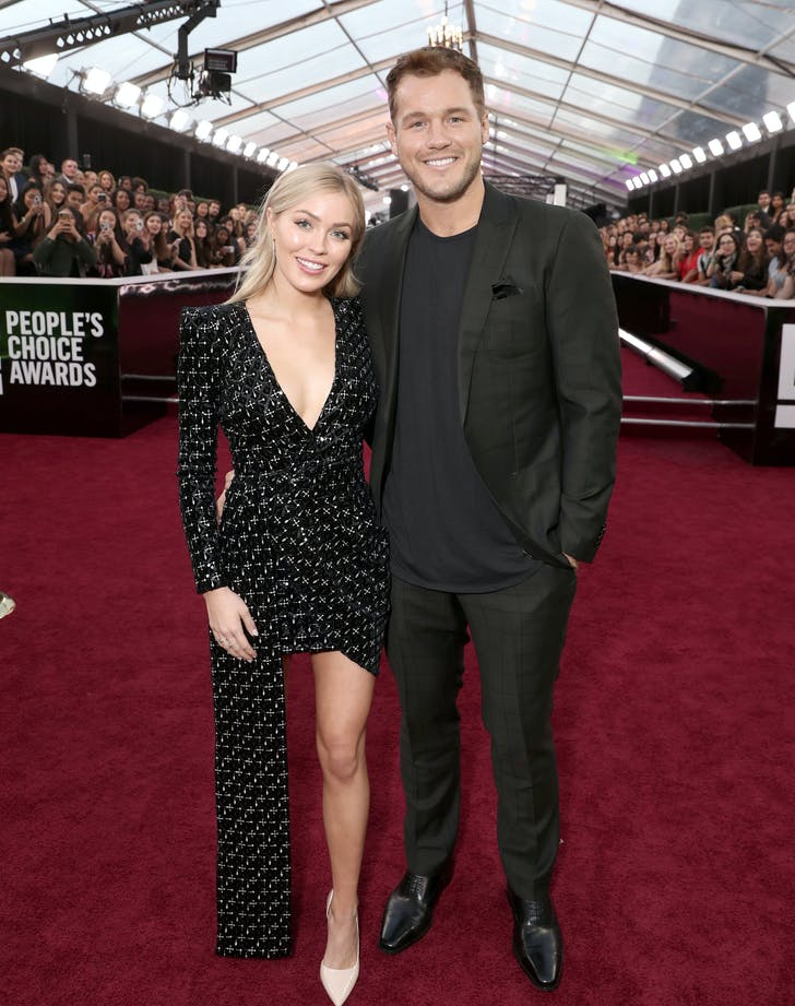 Cassie Randolph sequins people s choice awards