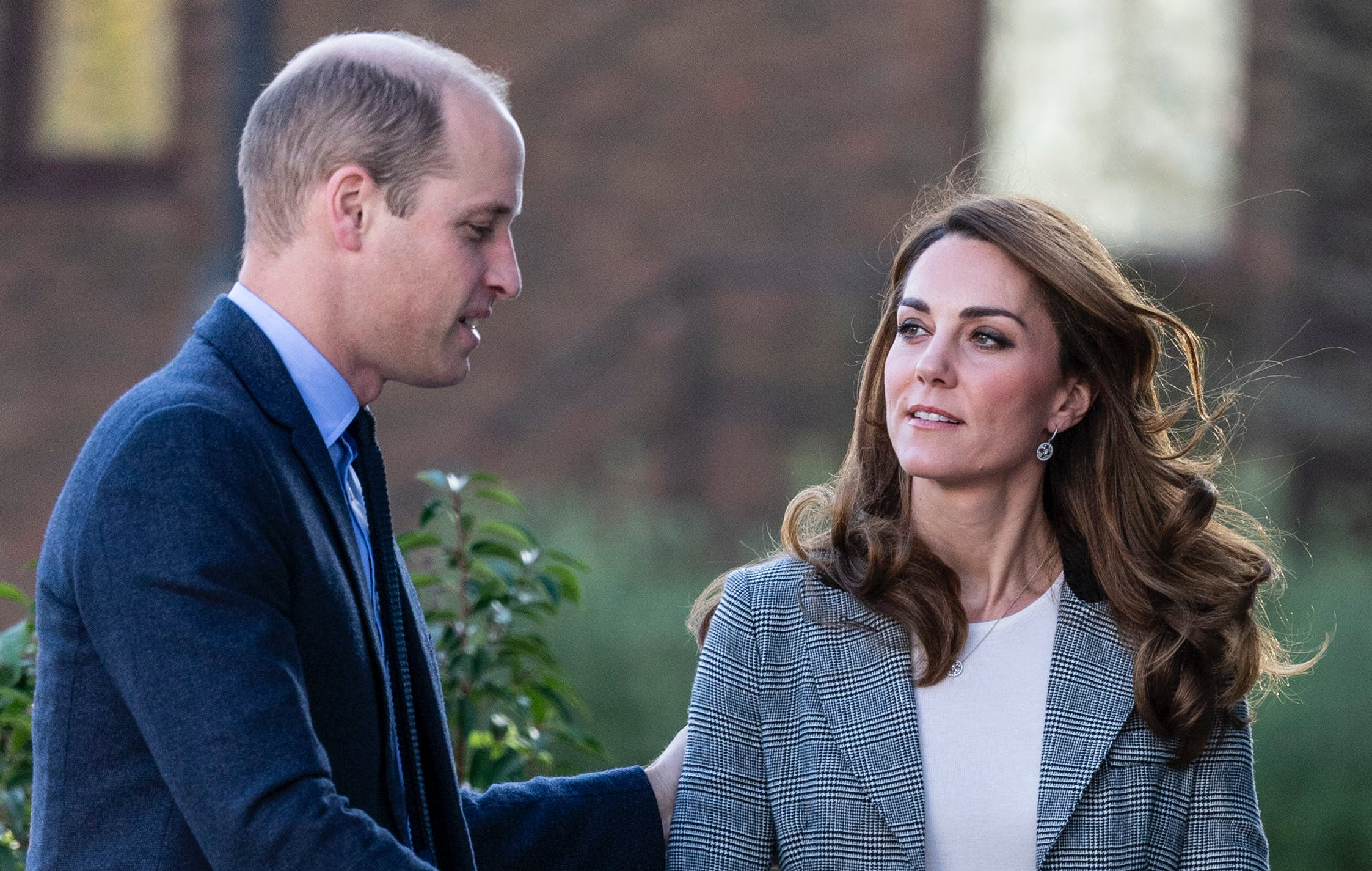 Kate Middleton & Prince William Shared Some Rare PDA Moments at Their Shout Engagement