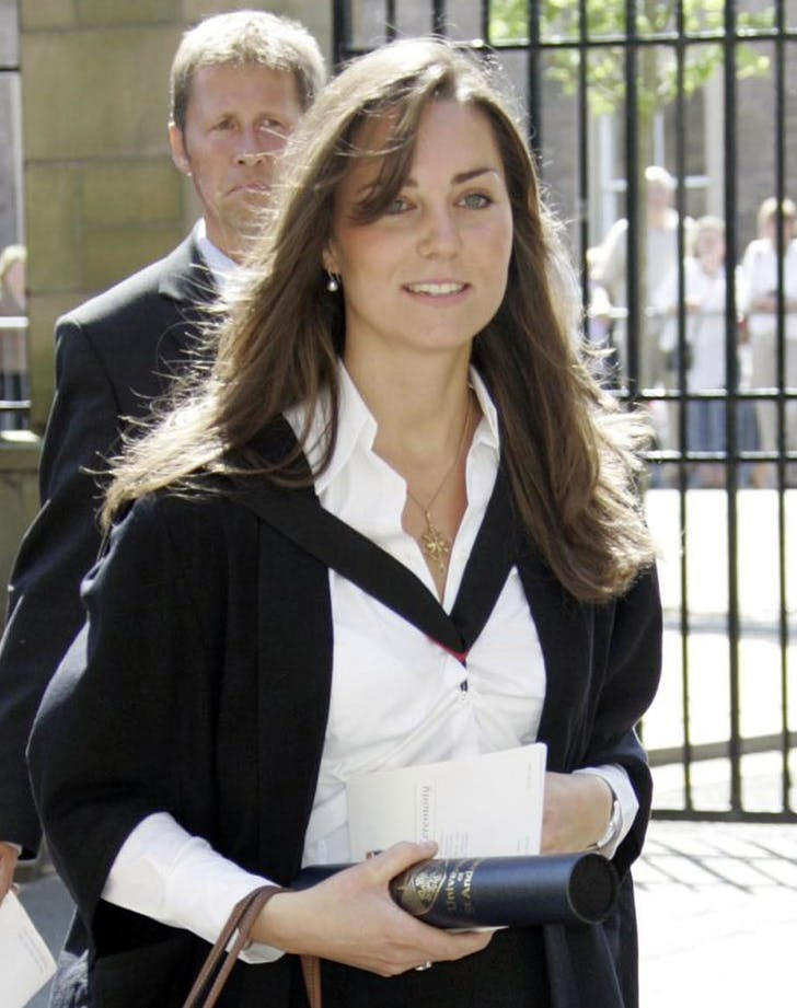 Kate middleton hair graduation 20051