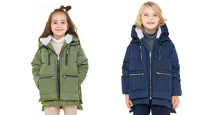 You Can Now Buy the Amazon Coat For Your Kids—And Yes, It's Just as Cute As You'd Expect