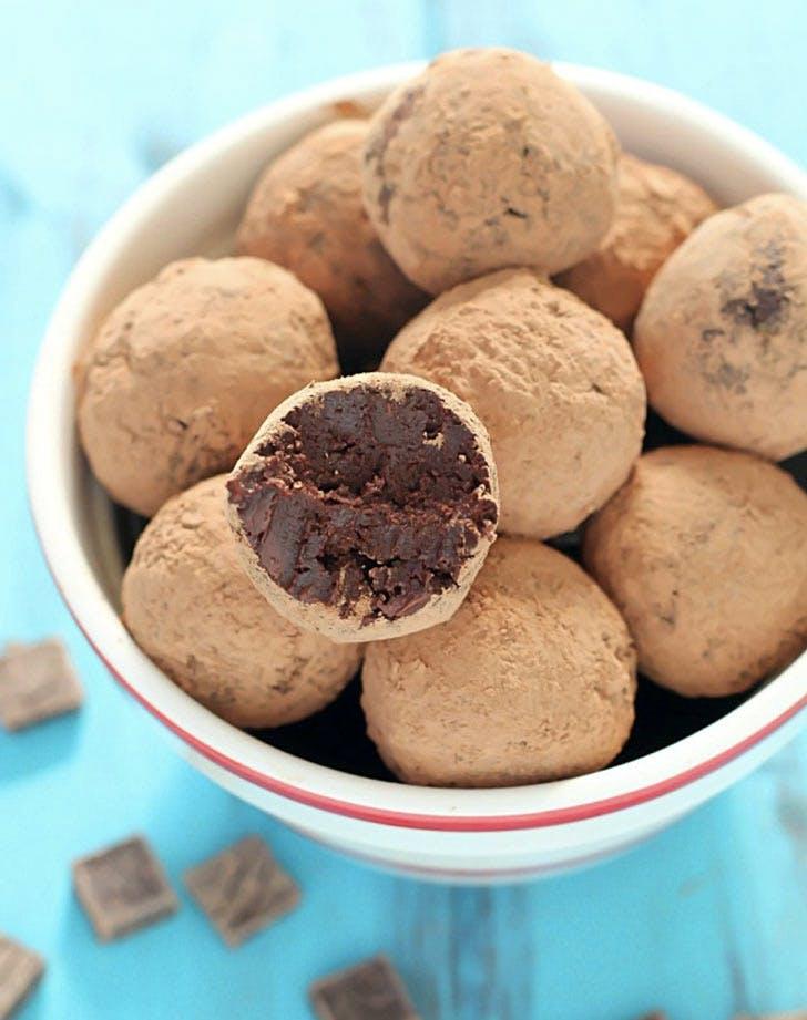 avocado dessert recipes chocolate truffles