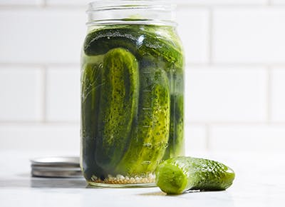 on dash diet craving pickles