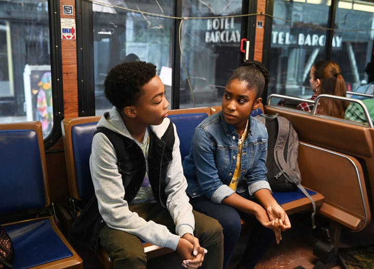 deja and malik on the bus this is us