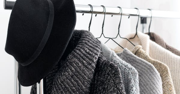 How to Hang Sweaters So They Don't Take Up Your Entire Closet