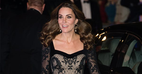 Kate Middleton Used Her Signature Parenting Move at Last Night's Royal Variety Performance