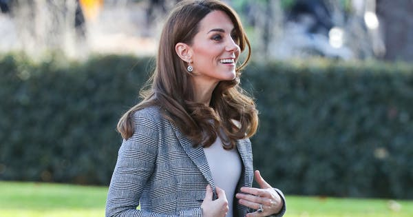 Kate Middleton Is All Smiles After Nearly Falling