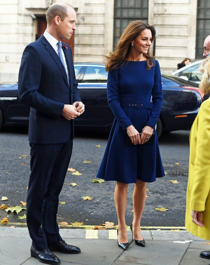 kate midleton surprise visit prince william