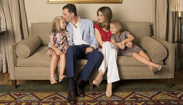 king felipe spanish royal family