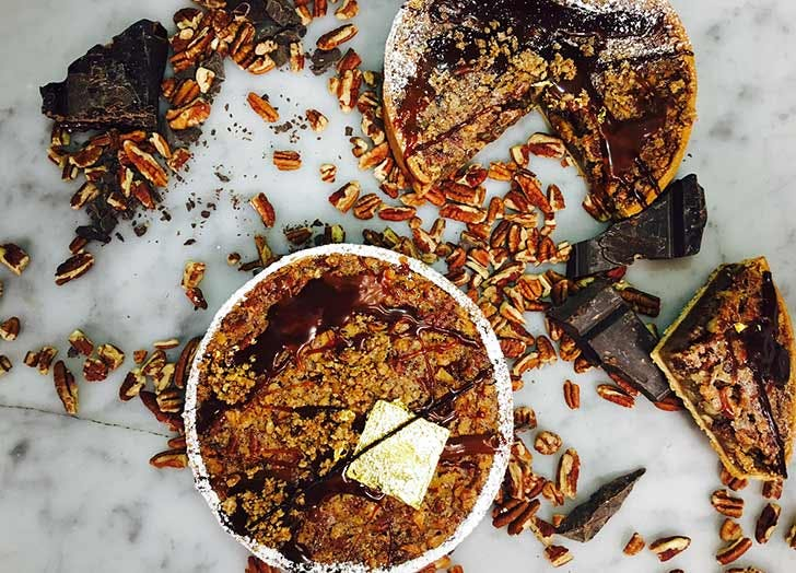 kreuther handcrafted chocolate pecan pie thanksgiving takeout nyc