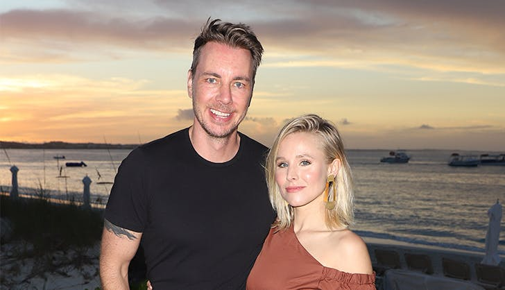krsiten bell dax shepard celebrity holiday traditions