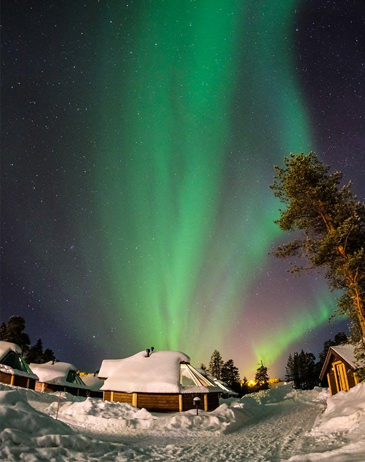 lapland finland in december