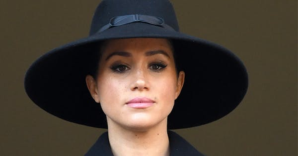 Here's Why Meghan Markle Didn't Stand with Queen Elizabeth & Kate Middleton at Sunday's Remembrance Ceremony