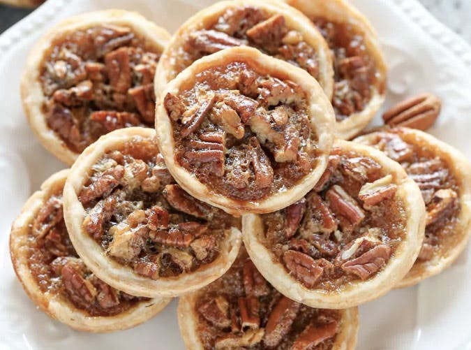 mini thanksgiving dessert pecan pies recipe 501