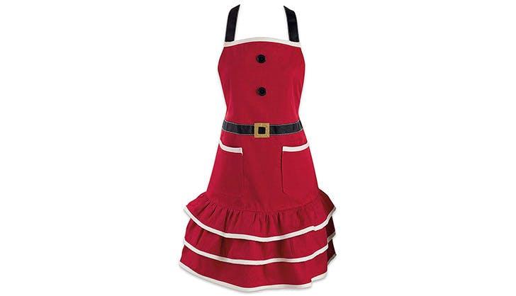 mrs claus apron