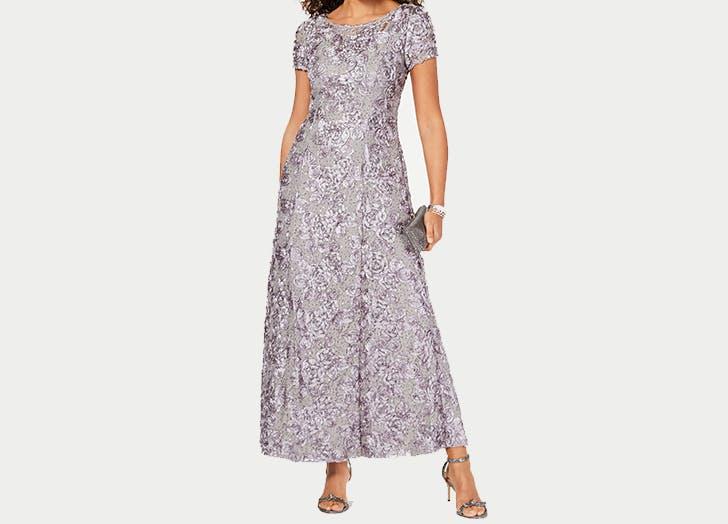 new dress alex evenings rosessette