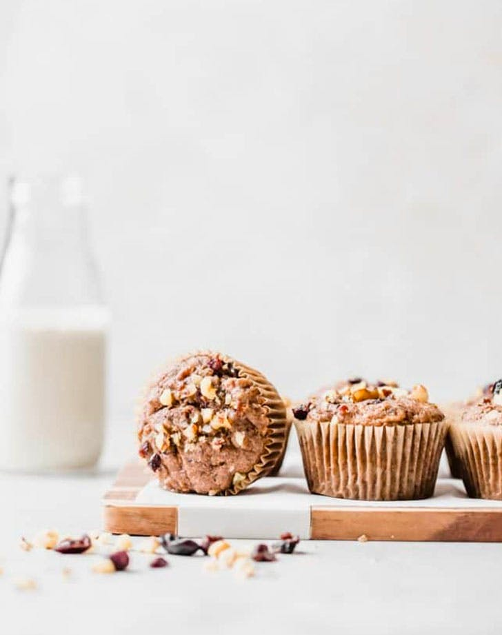 plant based breakfast ideas Whole Wheat Vegan Morning Glory Muffins