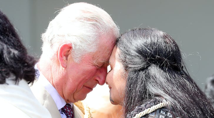 Prince Charles Just Tested Out a Traditional Māori Greeting in New Zealand