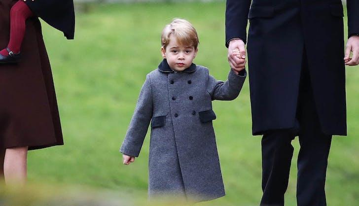 prince george wool coat