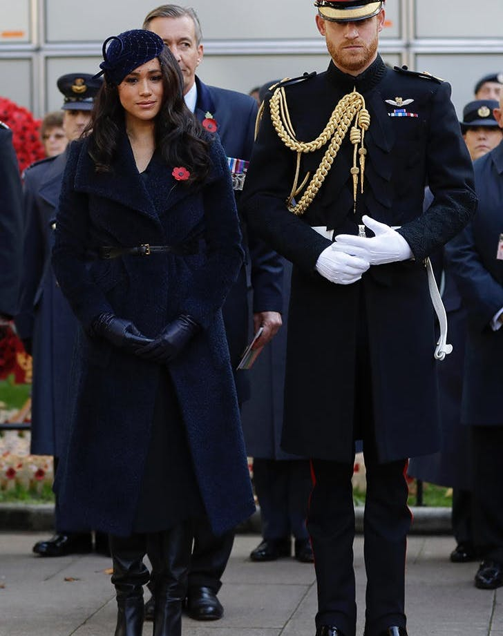 prince harry meghan markle field of remembrance1