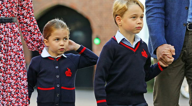 The Cambridge Children (Particularly Charlotte) Apparently Love Performing Shows at Home