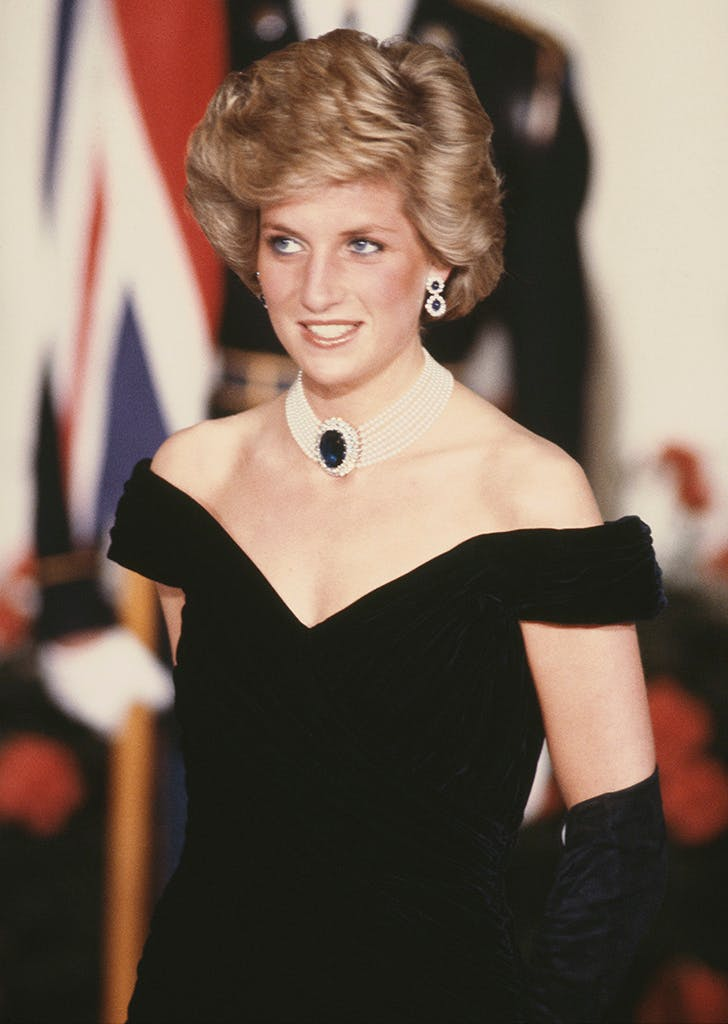 princess diana white house dinner gala