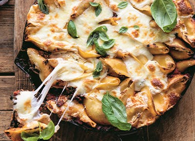spinach and three cheese stuffed shells recipe 400