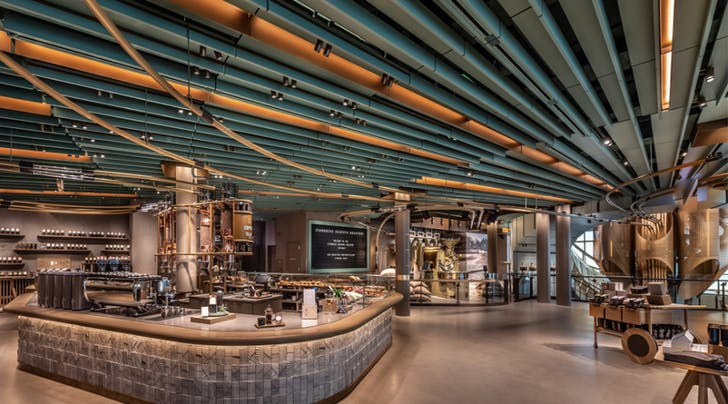 Starbucks Just Opened the World's Largest Roastery in Chicago