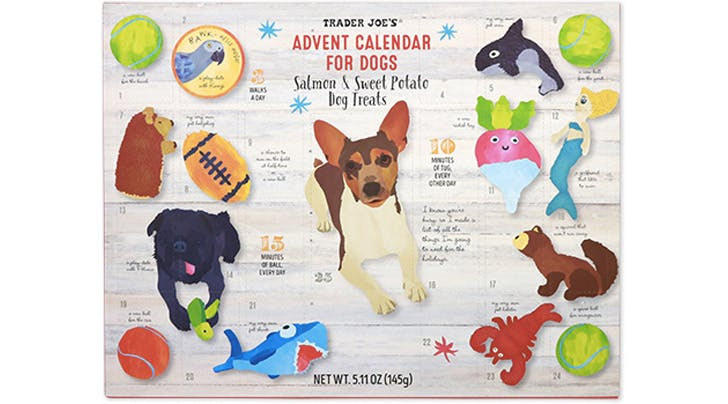 The Trader Joe's Dog Advent Calendar Is Back (and It's Only $6)