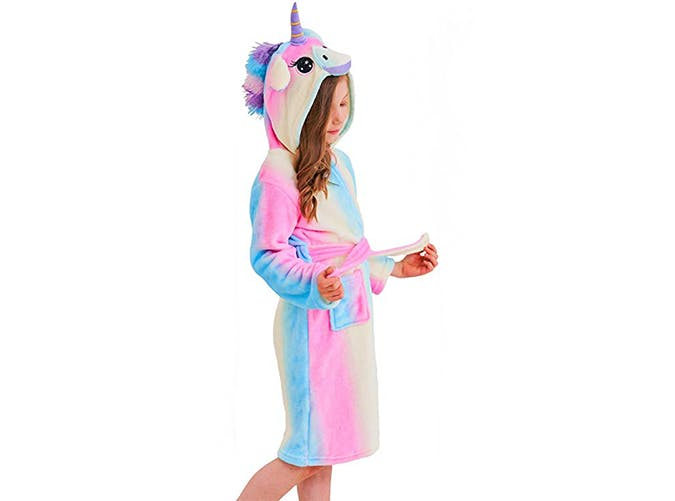 unicorn gifts   bathrobe