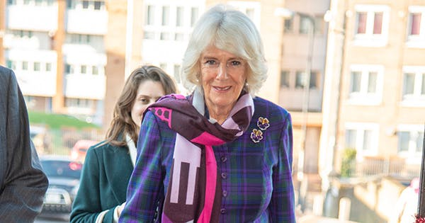 Camilla Parker Bowles Brought Her Power Clashing A-Game to a Royal Engagement Today