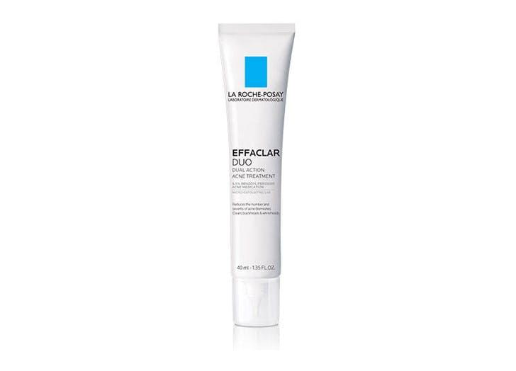 acne between eyebrows La Roche Posay Effaclar Duo Acne Treatment