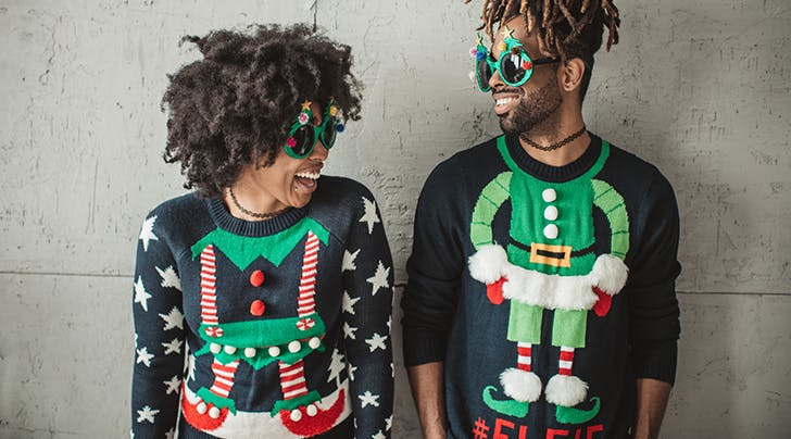 Alaska Airlines Is Offering Early Boarding to People Wearing Ugly Holiday Sweaters