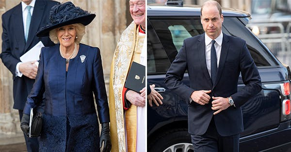 4 Royals Were Twinning in Navy Blue at Westminster Abbey Today