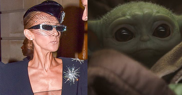 Ever Wonder What Baby Yoda Would Look Like *as* Céline Dion? Wonder No Longer