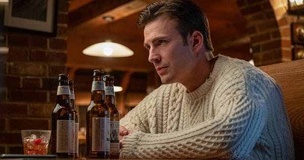 Everyone's Talking About Chris Evans's 'Knives Out' Sweater. Here's What You Need to Know