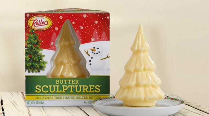Christmas Tree-Shaped Butter Is a Thing Now, Apparently
