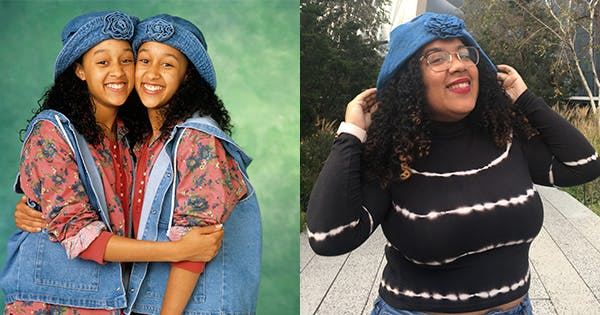 I Re-created 5 Iconic Curly Hair Looks from 'Sister, Sister'