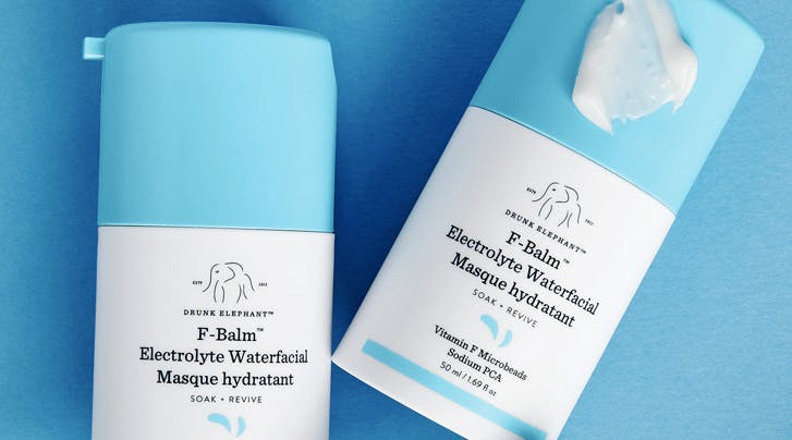 Drunk Elephant's New F-Balm Electrolyte Waterfacial Is Just What Dry Winter Skin Needs