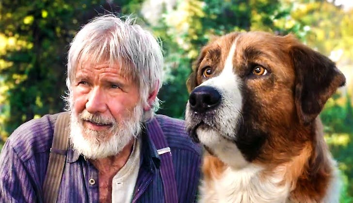 disney movies coming out call of the wild harrison ford