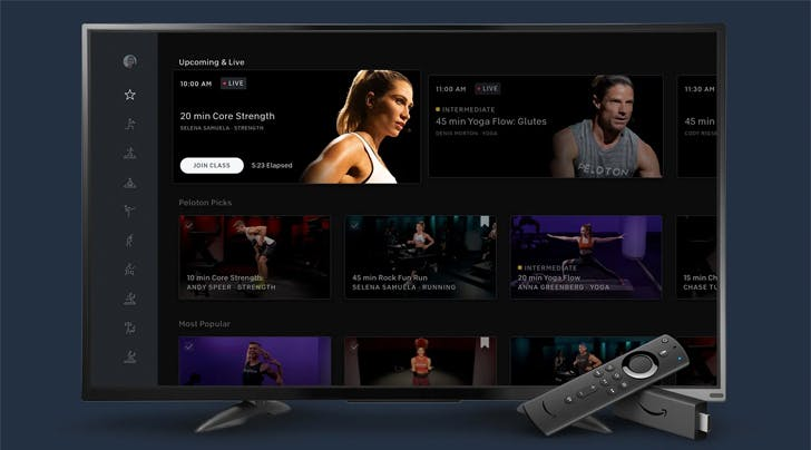 The Amazon Fire TV Stick Just Upgraded the Home Workout Game with its Latest Fitness App