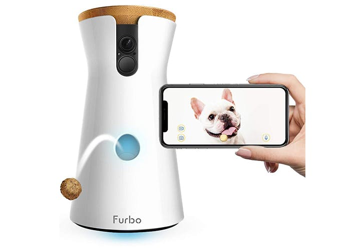 This Beloved Pet Camera (That Tosses Treats At Your Pup) Is Almost 50% Off Right Now