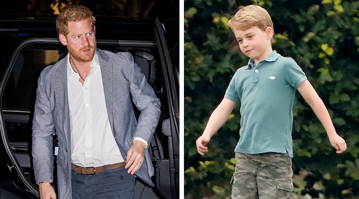 Prince Harry's Response to Meeting Prince George for the First Time? A Dad Joke, Obvi