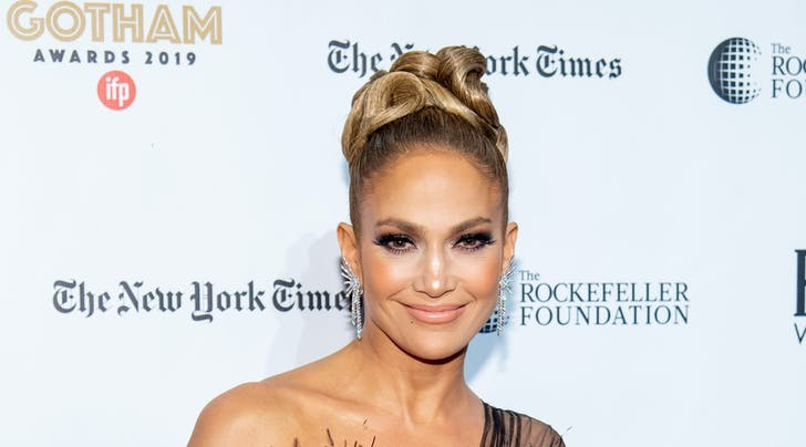 The Key to Jennifer Lopez's Updos? Root Cover Up (Yes, Seriously)