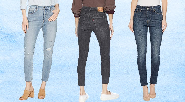 Our Editors Swear By Levis Wedgie Jeans (and Theyre On Sale!)