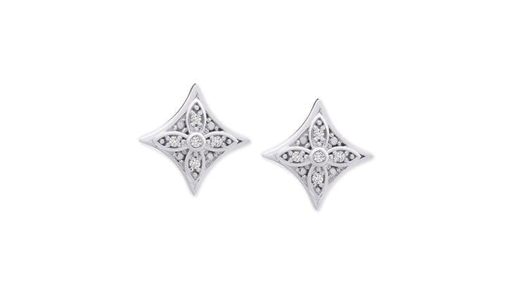macy s star earrings