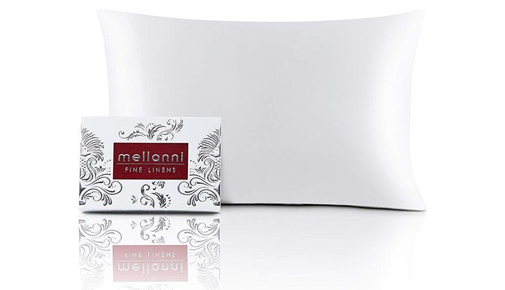mellanni fine linens silk pillowcase amazon