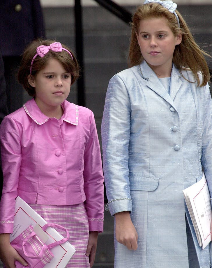 princess eugenie and beatrice matching headbands