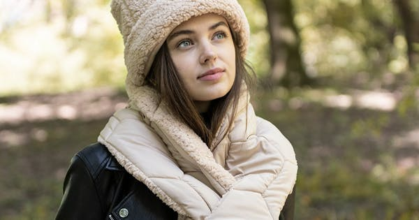 Puffer Scarves Are the Baby Duvets You Need Around Your Neck This Winter