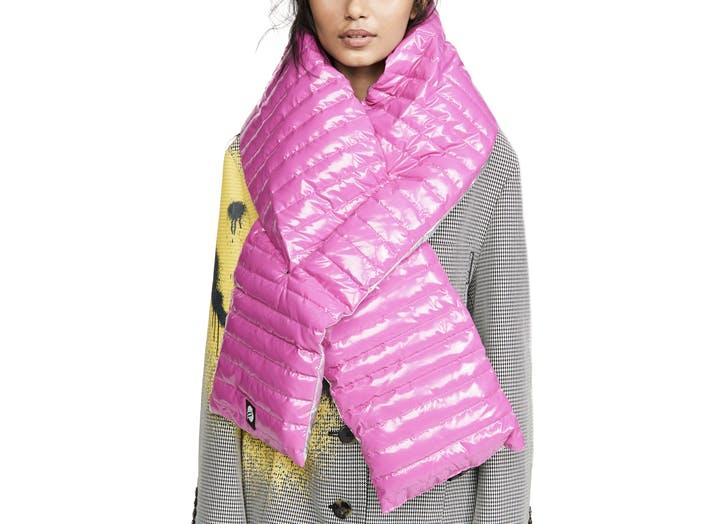 think royln puffer scarf