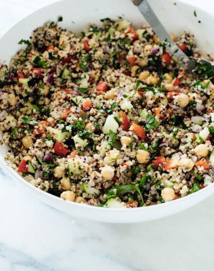 2020 oscar menu joaquinoa phoenix salad
